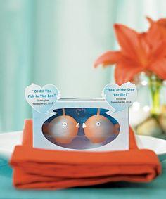 Mini Kissing Fish Candles (6 Sets) image