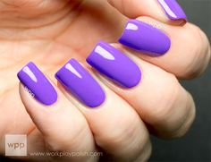 Purple Neon by Nicole ( OPI ) | Check out on www.workplaypolish.com❤️