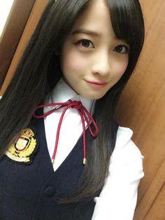 ひなまろ(@hinachan48)さん   Twitter Cute Asian Girls, Beautiful Asian Girls, Cute Girls, Japanese School Uniform, School Uniform Girls, Japanese Beauty, Asian Beauty, Hashimoto Kanna, Pretty Asian