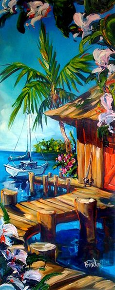 """Contact TABORA (808) 922-5400  """"FISH TALES"""", by Steve Barton Size: 14"""" x 34"""" Medium: Giclee on Canvas - Gallery Wrap Edition: 295"""