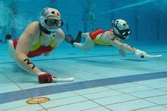 Underwater, Hockey, Sneakers Nike, Sports, Daily Exercise, Extreme Sports, Healthy Bodies, Exercises, Healthy Mind