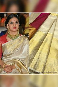 Details From our exclusive collection, we are offering you the Kanjeevaram Saree, which is a...