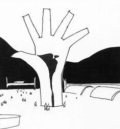 Oscar Niemeyer, Memorial da America Latina, Bleeding HandSculpture
