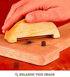Hacksaw Dowel Trimmer Woodworking Plan