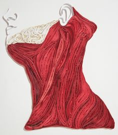Artist Sarah Yakawonis uses a technique called quilling - an art form that involves the use of strips of paper that are rolled, shaped, and glued together - to create complex anatomy art with paper. Human Body Crafts, Paper Quilling For Beginners, Paper Art, Paper Crafts, Science Crafts, Anatomy Art, Human Anatomy, Colored Paper, Magazine Art