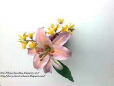 crin si Forsythia Sugar Flowers, Plants, Horsehair, Flora, Plant, Planting