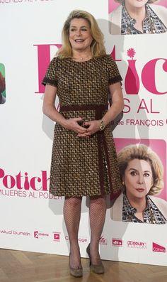 Catherine Deneuve Photos - Catherine Deneuve attends 'Potiche' Photocall in Madrid - Zimbio