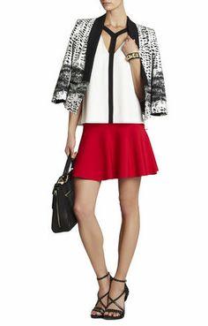 Ingrid A-Line Skirt | BCBG