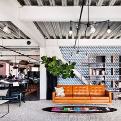 Cloud Room: A Modern Shared Working Space in Seattle   Design Milk