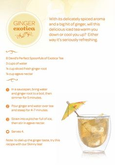 Ginger Exotica by DAVID'sTEA, via Flickr
