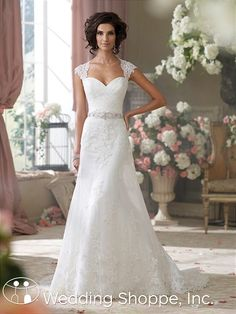 David Tutera for Mon Cheri Bridal Gown Flo / 214204..I love everything single thing about this dress!!!!