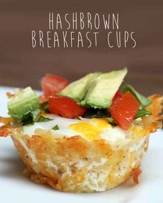 Clear The Breakfast Table Off Because All You Need Are These Hash Brown Breakfast Cups