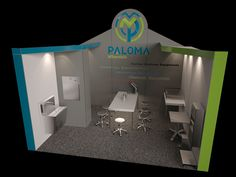 Exhibition Stand design PALOMA Tüyap_İstanbul 20m²