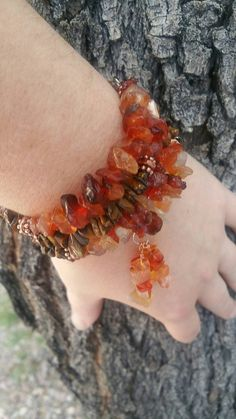 Genuine Gemstone Chip Necklaces Agate Amber Turquoise Tourmaline  Jasper etc