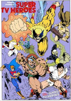 Heróis de Hanna e Barbera