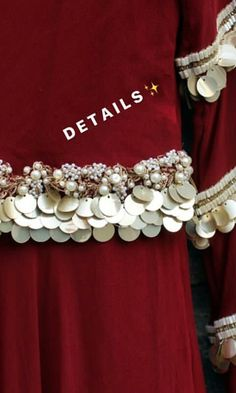 Embroidery On Kurtis, Kurti Embroidery Design, Hand Work Embroidery, Couture Embroidery, Embroidery Dress, Beaded Embroidery, Shadi Dresses, Pakistani Formal Dresses, Pakistani Dress Design