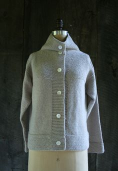 Laura's Loop: The Purl Soho Cardigan Coat + Vest - The Purl Bee - Knitting Crochet Sewing Embroidery Crafts Patterns and Ideas!