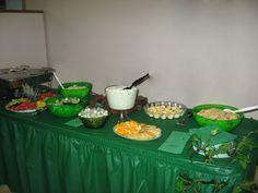 green table -buffet