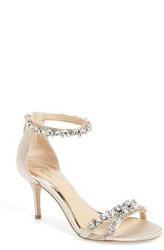49d2ea4a335e JEWEL BADGLEY MISCHKA Caroline Embellished Sandal Cool Shoes For Women