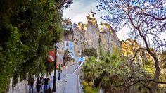 Her er Spanias tredje største turistmål Mount Rushmore, Mountains, Nature, Travel, Painting, Sun, Naturaleza, Viajes, Painting Art