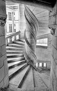 Escalier du Chateau de Chambord