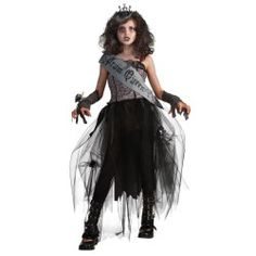 Goth Prom Queen Teen Costume AND 25% OFF SALE is ON