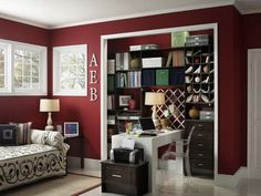 Home office closets can include many different elements depending on the closet. Description from homedesignideasx.com. I searched for this on bing.com/images