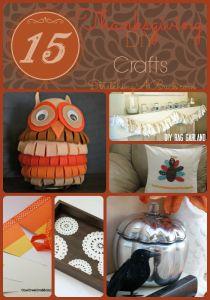 15 Thanksgiving DIY Craft Ideas + Thanksgiving Morning Turkey Toast