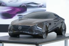 Statue Concept for Mercedes-Benz by Ferenc Laufer, via Behance