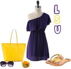 LSU Gameday outfit!