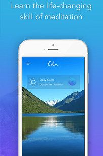 Download Calm, an app with daily meditation programs, breathing exercises, and relaxation stories to help you get to sleep. | 29 Things For Anyone Who's Feeling Stressed