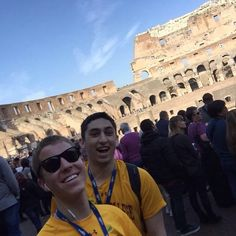 Check out some BC students at the Colosseum! Have fun :) #BCSpringBreak