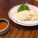 多賀 - 料理写真:湯葉刺身。