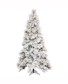 The 25 Best Flocked Artificial Christmas Trees Images On