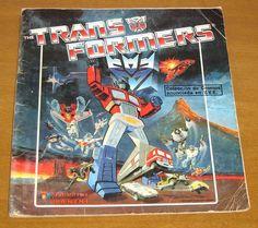 Album cromos Transformers
