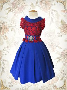 A personal favorite from my Etsy shop https://www.etsy.com/listing/256272816/girls-lace-dress-girls-couture-dress