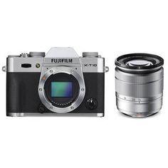Fujifilm X-T10 Mirrorless Digital Camera with 16-50mm 16471380