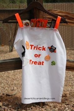 Candy Bag Costume