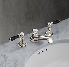Lefroy Brooks 1900 Classic Black Bath Collection | RH