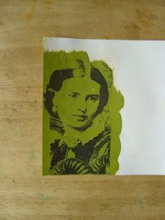 Super-easy image transfers using photocopies, acrylic paint, and a spritzer bottle.