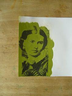 Acrylic Paint Transfer