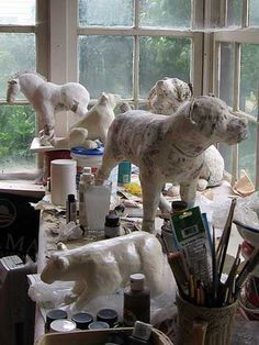 Great blog for Paper Mache Process                                                                                                                                                     More