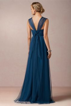 Annabelle Bridesmaid Dress in Lapis Blue by Jenny Yoo for BHLDN bridesmaid dress, cheap bridesmaid dresses, long bridesmaid dresses