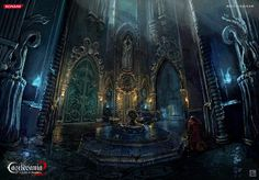 Castlevania_Lords_of_Shadow_2_Concept_Art_CarlosNCT_Castle_Nobleesclusa
