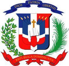 Dominican Flag Tattoos | Dominican Republic clip art - vector clip art online, royalty free ...
