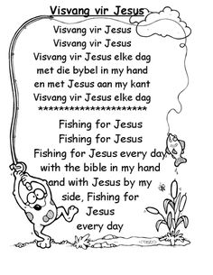 Bible Songs For Kids, Children Songs, Kids Poems, Bible Lessons For Kids, Preschool Themes, Kids Learning Activities, Teaching Kids, Teaching Reading, Grade R Worksheets