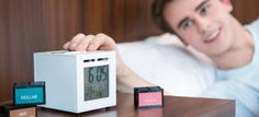 Do you have trouble waking up in the morning? Maybe you need this smell-based alarm clock that wakes you up with fragrant scents rather than ear-piercing noise!