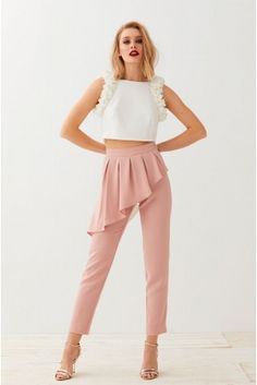 70s Fashion, Fashion Pants, Girl Fashion, Fashion Dresses, Fashion Design, Designer Party Wear Dresses, Outfits Mujer, Moda Online, Classy Dress