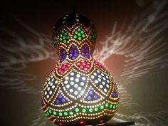 Gourd Art Lamp