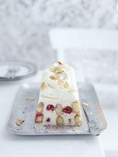 Mascarpone and raspberry trifle terrine